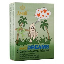 Amor Wild Dreams Condoms 3 pack
