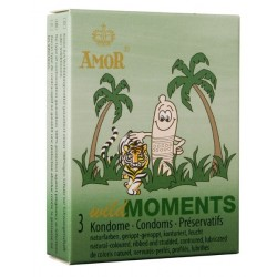 Condones Amor Wild Moments Pack 3