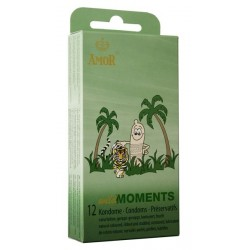 Condones Amor Wild Moments Pack 12