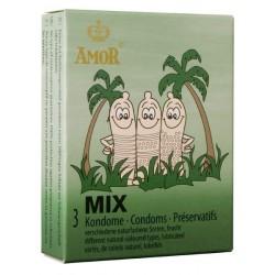 Préservatifs Amor Mix Pack 3