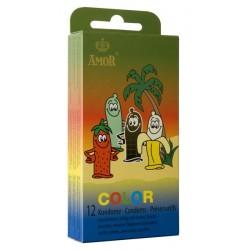 Préservatifs Amor Color Pack 12