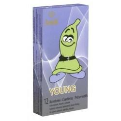 Préseravatifs Amor Young Pack 12