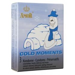 Préservatifs Amor Cold Moments Pack 3