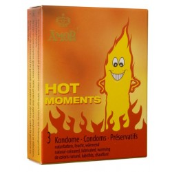 Amor Hot Moments Condoms 3 pack