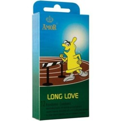 Préservatifs Amor Long Love Pack 12