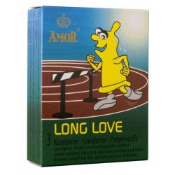 Condones Amor Long Love Pack 3