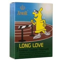 Préservatifs Amor Long Love Pack 3
