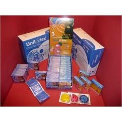 Condones Unilatex Multi Color - 144 unidades