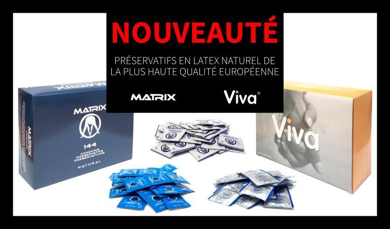 Préservatifs en latex naturel de la plus haute qualité européenne