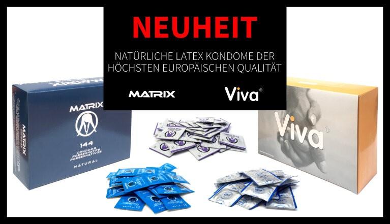 Natürliche latex kondome der höchsten europäischen qualität