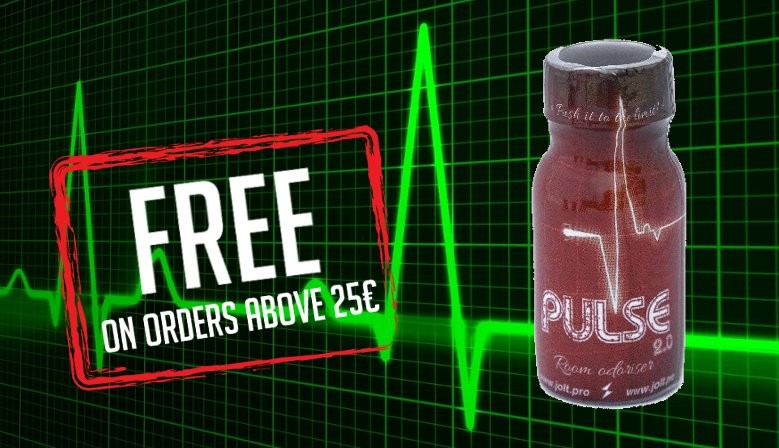 Free Gift Poppers Pulse 13 ml
