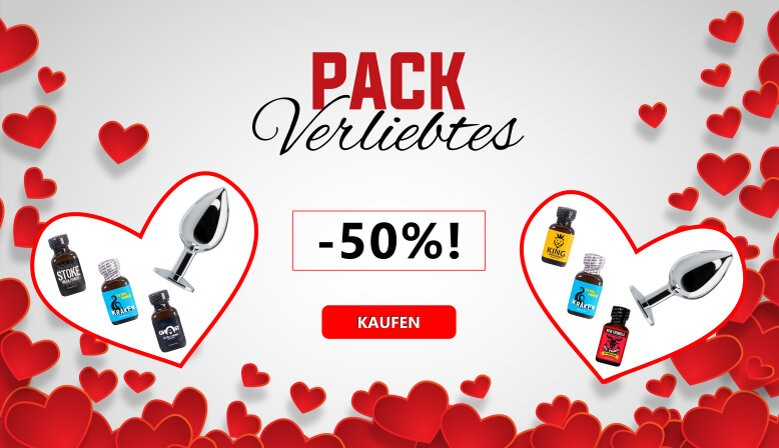 Valentinstag Poppers Packs