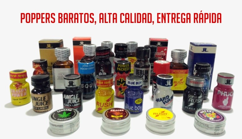 Compra Poppers baratos
