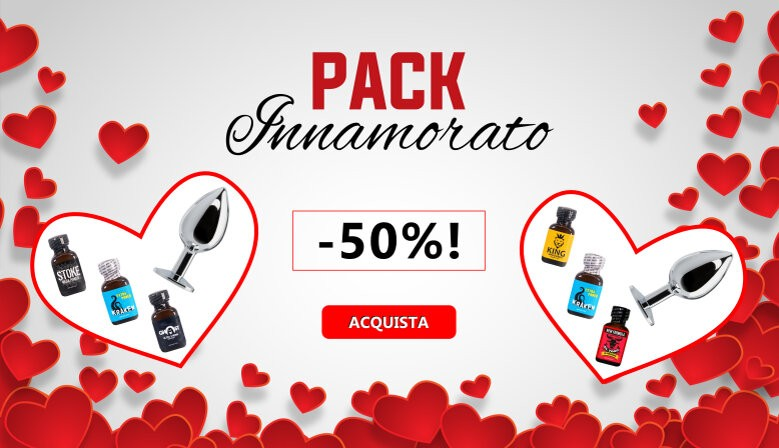 San Valentino poppers Packs