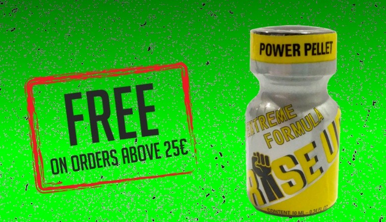 Free Gift Poppers RISE UP 10ML